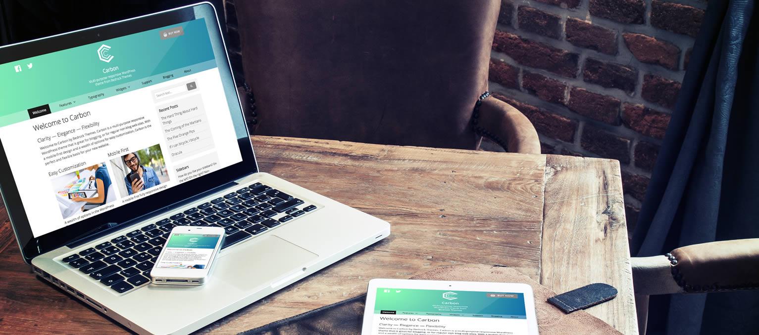 Carbon - Simple WordPress theme